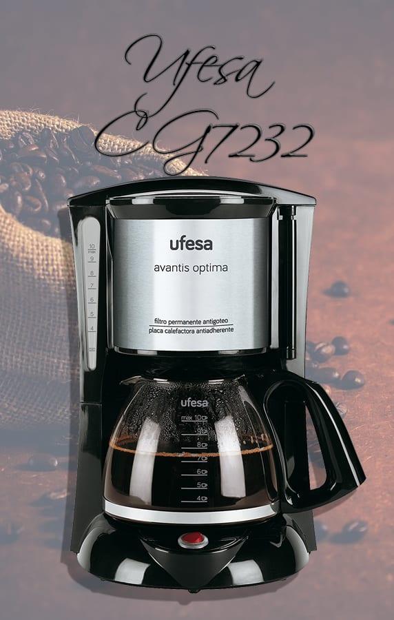 La cafetera Ufesa CG7232 2018 - Sabor y placer en una taza