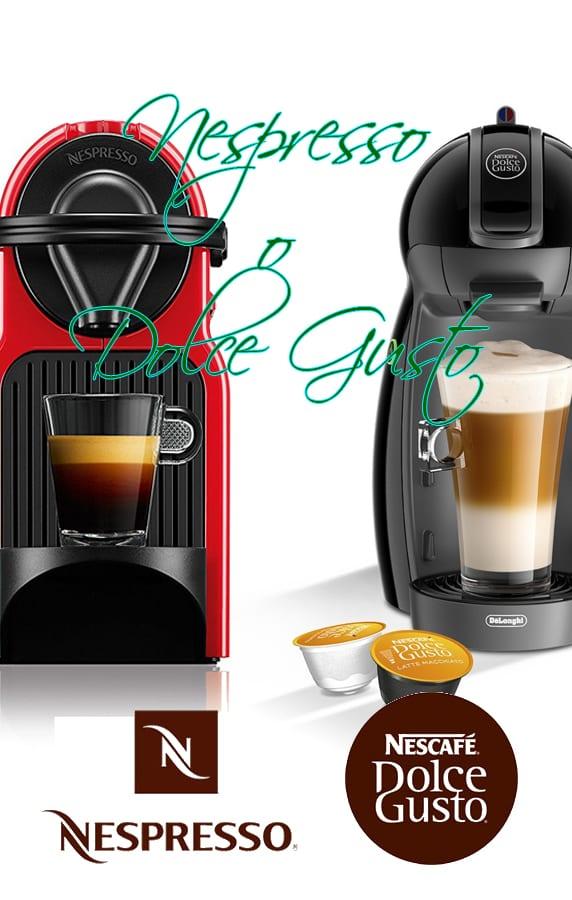Nespresso o Dolce Gusto - Que cafetera comprar