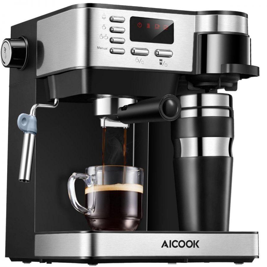 Aicook Cafetera Multifunción 3 en 1 para Espresso