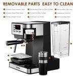 FOREXPROS CAFE, Aicook Cafetera Multifunción 3 en 1 para Espresso