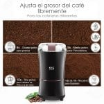 FOREXPROS CAFE, Molinillo Eléctrico de Café Kig