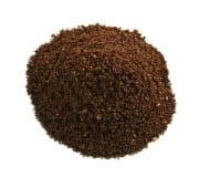 Ejemplo de molienda de café fino. Usado para el espresso.