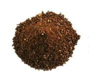 Ejemplo de molienda de café grueso. Utilizado para la prensa francesa.