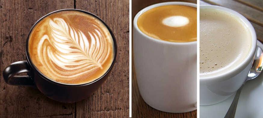 Latte vs Flat White, flat white coffee, flat white cafe, flat white starbucks, flat white dolce gusto